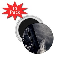 Chicago Skyline Tall Buildings 1 75  Magnets (10 Pack)