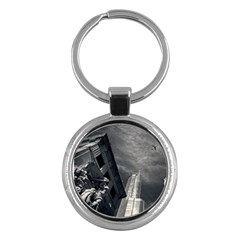 Chicago Skyline Tall Buildings Key Chains (round)