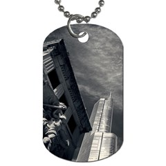 Chicago Skyline Tall Buildings Dog Tag (two Sides)