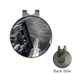 Chicago Skyline Tall Buildings Hat Clips With Golf Markers