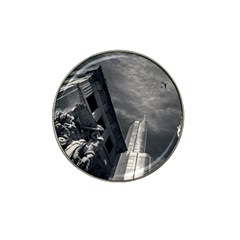 Chicago Skyline Tall Buildings Hat Clip Ball Marker