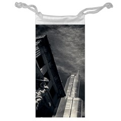 Chicago Skyline Tall Buildings Jewelry Bag