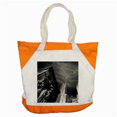 Chicago Skyline Tall Buildings Accent Tote Bag