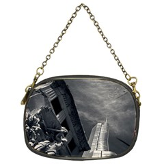 Chicago Skyline Tall Buildings Chain Purses (two Sides)