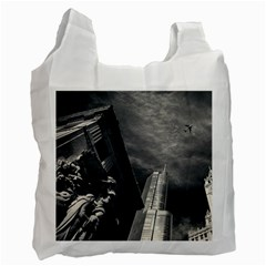 Chicago Skyline Tall Buildings Recycle Bag (one Side)