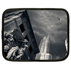 Chicago Skyline Tall Buildings Netbook Case (xl)