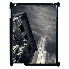 Chicago Skyline Tall Buildings Apple Ipad 2 Case (black)