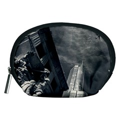 Chicago Skyline Tall Buildings Accessory Pouches (medium)