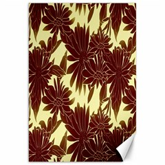 Floral Pattern Background Canvas 20  X 30