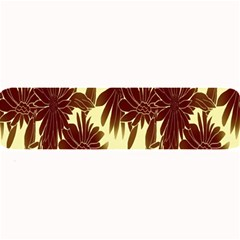 Floral Pattern Background Large Bar Mats
