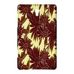 Floral Pattern Background Samsung Galaxy Tab S (8 4 ) Hardshell Case