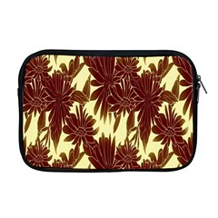 Floral Pattern Background Apple Macbook Pro 17  Zipper Case