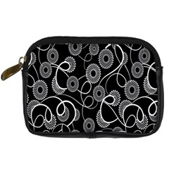 Floral Pattern Background Digital Camera Cases
