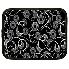 Floral Pattern Background Netbook Case (xl)
