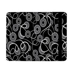 Floral Pattern Background Samsung Galaxy Tab Pro 8 4  Flip Case