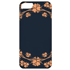 Floral Vintage Royal Frame Pattern Apple Iphone 5 Classic Hardshell Case