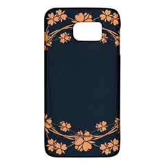 Floral Vintage Royal Frame Pattern Galaxy S6