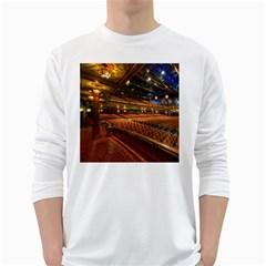 Florida State University White Long Sleeve T Shirts
