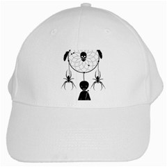 Voodoo Dream Catcher  White Cap