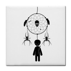 Voodoo Dream Catcher  Tile Coasters