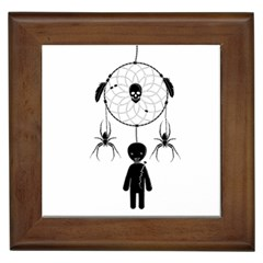 Voodoo Dream Catcher  Framed Tiles
