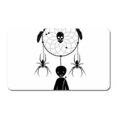 Voodoo Dream Catcher  Magnet (rectangular)