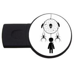 Voodoo Dream Catcher  Usb Flash Drive Round (2 Gb)