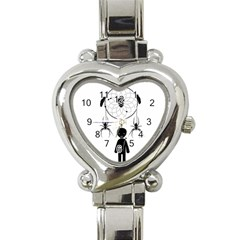 Voodoo Dream Catcher  Heart Italian Charm Watch