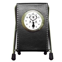 Voodoo Dream Catcher  Pen Holder Desk Clocks