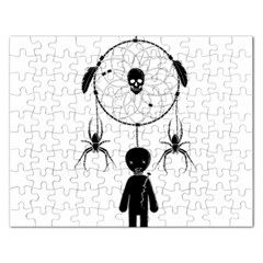 Voodoo Dream Catcher  Rectangular Jigsaw Puzzl