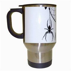 Voodoo Dream Catcher  Travel Mugs (white)