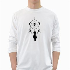 Voodoo Dream Catcher  White Long Sleeve T Shirts