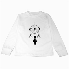 Voodoo Dream Catcher  Kids Long Sleeve T Shirts