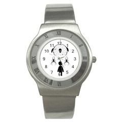 Voodoo Dream Catcher  Stainless Steel Watch