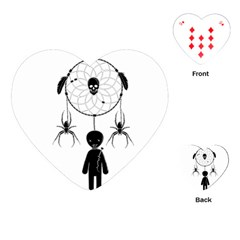 Voodoo Dream Catcher  Playing Cards (heart)