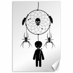Voodoo Dream Catcher  Canvas 12  X 18