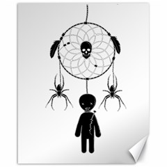 Voodoo Dream Catcher  Canvas 16  X 20