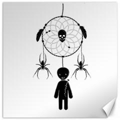 Voodoo Dream Catcher  Canvas 20  X 20
