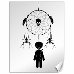 Voodoo Dream Catcher  Canvas 18  X 24
