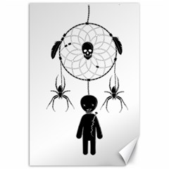 Voodoo Dream Catcher  Canvas 20  X 30