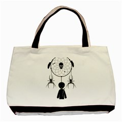 Voodoo Dream Catcher  Basic Tote Bag (two Sides)