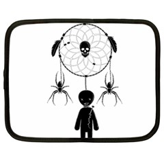 Voodoo Dream Catcher  Netbook Case (large)