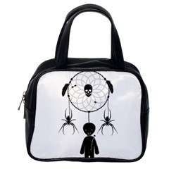 Voodoo Dream Catcher  Classic Handbags (one Side)