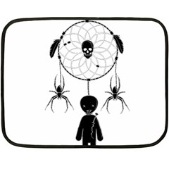 Voodoo Dream Catcher  Fleece Blanket (mini)