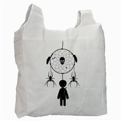 Voodoo Dream Catcher  Recycle Bag (two Side)