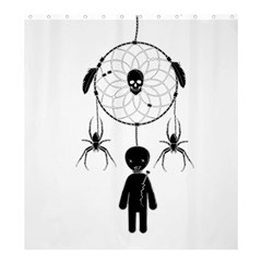 Voodoo Dream Catcher  Shower Curtain 66  X 72  (large)