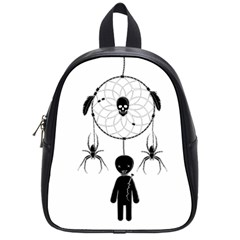 Voodoo Dream Catcher  School Bag (small)