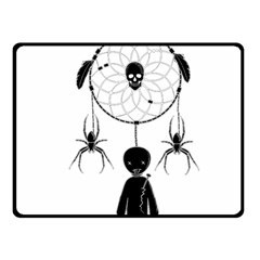 Voodoo Dream Catcher  Fleece Blanket (small)