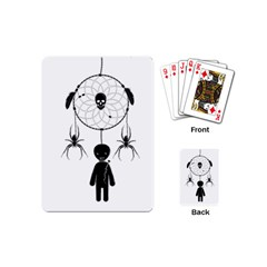 Voodoo Dream Catcher  Playing Cards (mini)