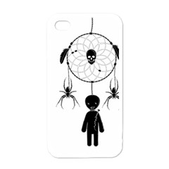 Voodoo Dream Catcher  Apple Iphone 4 Case (white)